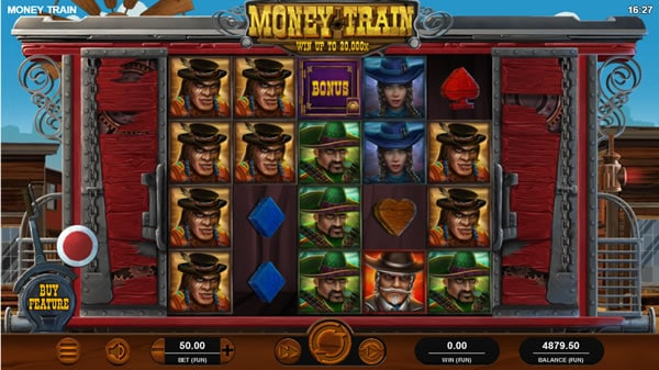 Money Train Online Slot by Relax Gaming