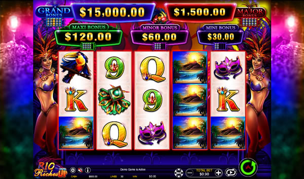 Rio Riches - Stacked Up Slot by Ainsworth