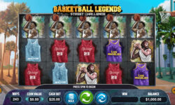 Basketball Legends Online Slot by Dragon Gaming