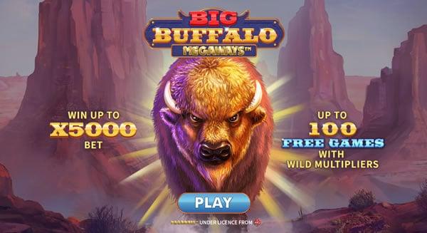 Big BuffaloMegaways Online Slot by Skywind Group