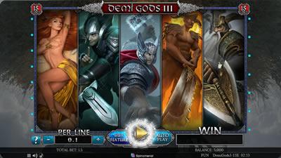 Demi Gods III 15 Lines