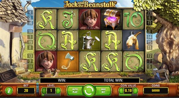 Jack and the Beanstalk NetEnt Slot