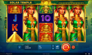 Solar Temple Online Slot by Playson