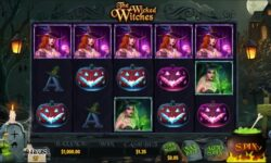 The Wicked Witches Slot by Dragon Gaming