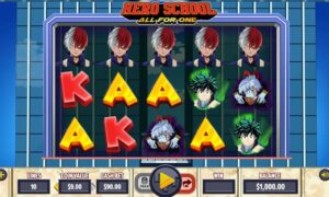 Hero School: All for One Slot