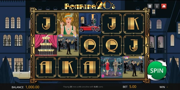 Roaring 20's Slot by Saucify